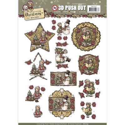 SB10197 - Pushout - Yvonne Creations - Celebrating Christmas- Yvonne Creations