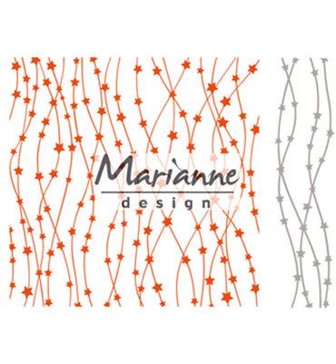 DF3439 - Marianne Design - Design Folder + Die - Celestial stars - 152x154mm