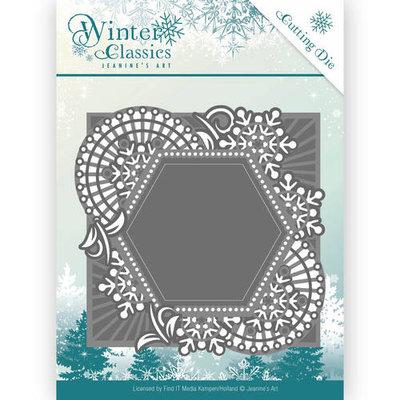 JAD10015 – Die - Jeanine's Art - Winter Classics - Mosaic frame