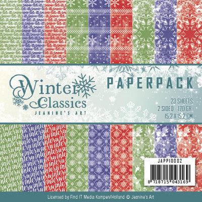 JAPP10002 – Jeanine Art - Winter Classics – Paperpack