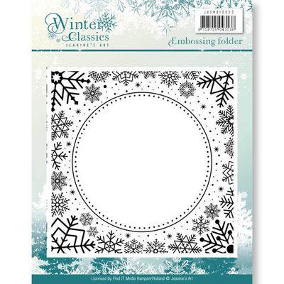 JAEMB10003 – Embossing Folder - Jeanines Art - Winter Classics