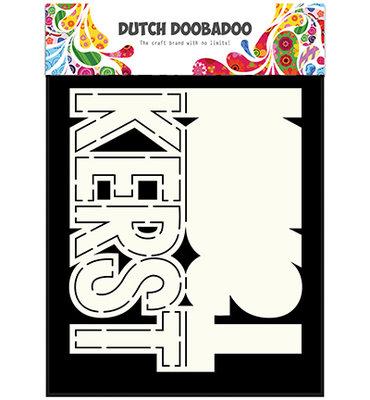 470.713.638 Dutch DooBaDoo - Card Art - Text Kerst - A5
