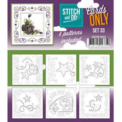 Stitch & Do - Cards Only - 33