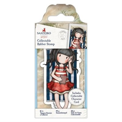 Collectable Rubber Stamp - Santoro - No. 42 Summer Days