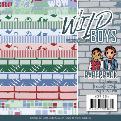 YCPP10014 Paperpack - Yvonne Creations - Wild Boys
