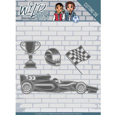 YCD10117 Die - Yvonne Creations - Wild Boys - Racing