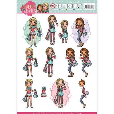 SB10223 Pushout - Yvonne Creations - Sweet Girls - My World