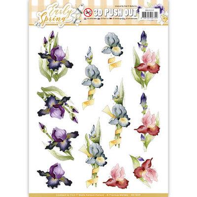 SB10225 – 3D Pushout - Precious Marieke - Early Spring - Early Irises
