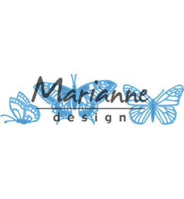 LR0509 - Marianne Design - Creatables - Tiny's Butterflies set - 3pcs - 72x44 53x35 34x28mm