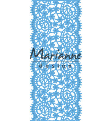 LR0507 - Marianne Design - Creatables - Lace Border - 65x150mm