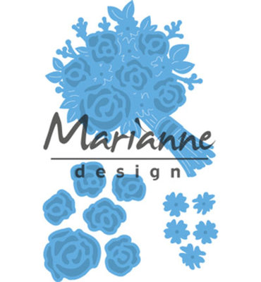 LR0505 - Marianne Design - Creatables - Bouquet - 3pcs - 17x24 52x54 32x37mm