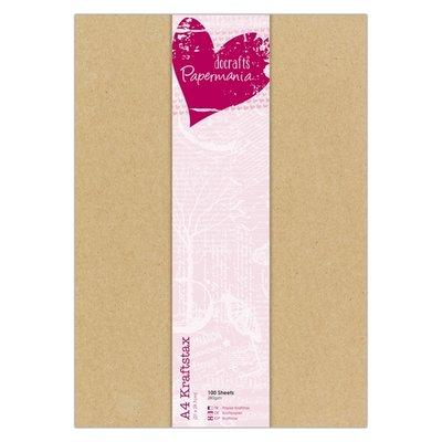 PMA160609 - Papermania - Krafstax - A4 - 10 vel - 280 grs