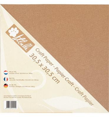 Atbelle - Craft Paper - 30,5x30,5cm - 300grs - 20 vel