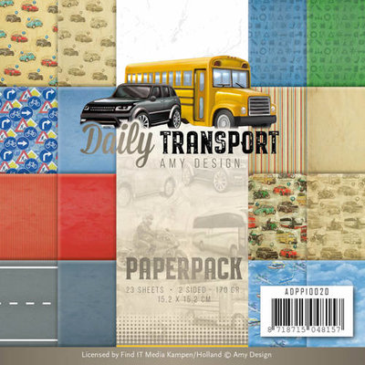 ADPP10020 - Paperpack - Amy Design - Daily Transport