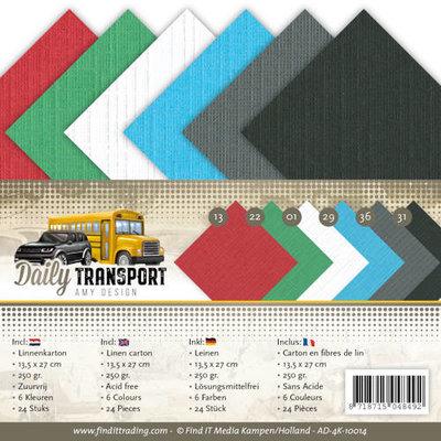 AD-4K-10014 Linnenpakket - 4K- Amy Design - Daily Transport