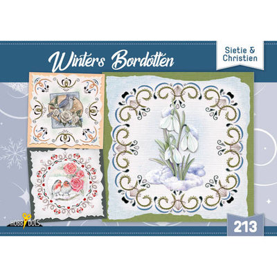 Hobbydols 213 Winters Bordotten - Sietie en Christien