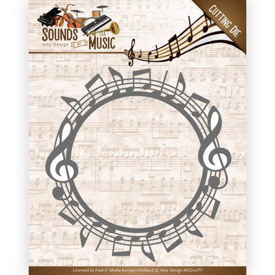 ADD10134 - Dies - Amy Design - Sounds of Music - Music Border