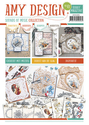 Hobby Magazine 1 Amy Design