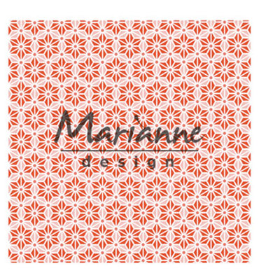 DF3445 - Marianne Design - Design Folder - 3D - Japanese Star