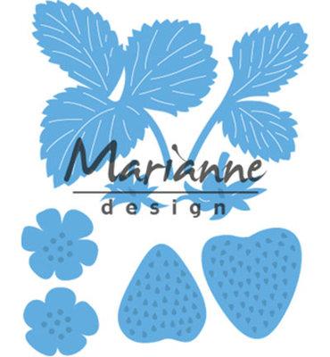 LR0510 - Marianne Design - Creatables - Strawberries - 55x4cm 37x23cm 16x30cm