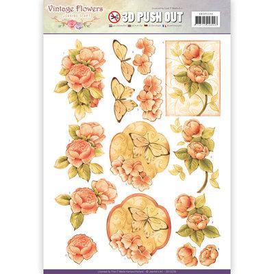 SB10239 - Pushout - Jeanine's Art - Vintage Flowers - Sweetheart Vintage