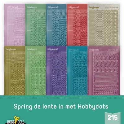 Stickerset Hobbydols 215