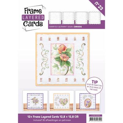 Frame Layered Cards 23 - 4K Vintage Flowers