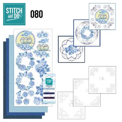 Stitch and Do 80 - Vintage Bloemen