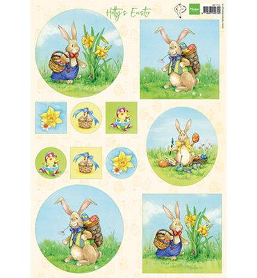 HT1702 - Knipvel - Marianne Design - Hetty's Easter