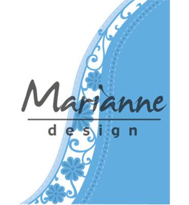 LR0518 - Marianne Design - Creatables - Anja's Flower Wave - 87x150mm - 3 pcs