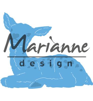 LR0514 - Marianne Design - Creatables - tinys baby deer - 58x48mm