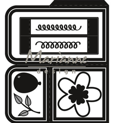 CR1433 - Marianne Design - Craftables - card box