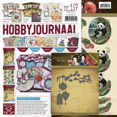 Hobbyjournaal 157 -SET- met mal ADD10142 en gratis knipvel