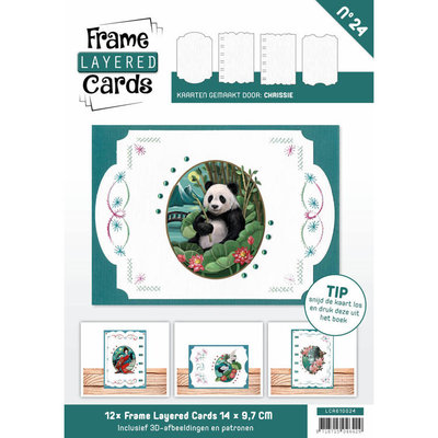 Frame Layered Cards 24 - A6