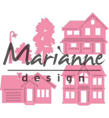 COL1451 - Marianne Design - Collectables - Mini Village - 33x29mm