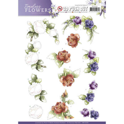 SB10258 - Push Out - Precious Marieke - Timeless Flowers - Roses