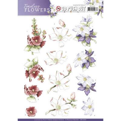 SB10260 - Push Out - Precious Marieke - Timeless Flowers - Garden Flowers