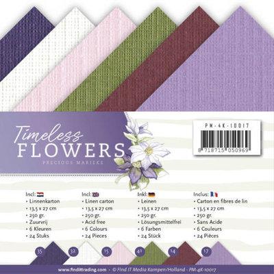 PM-4K-10017 Linnenpakket - 4K - Precious Marieke - Timeless Flowers