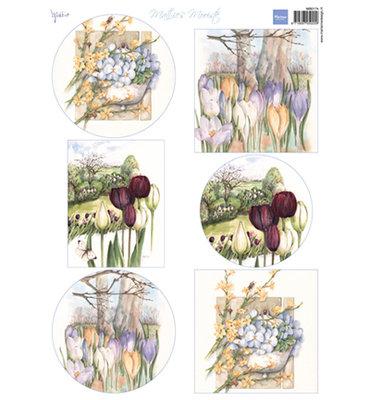 MB0174 - Knipvel - Marianne Design - Mattie's mooiste Spring Flowers