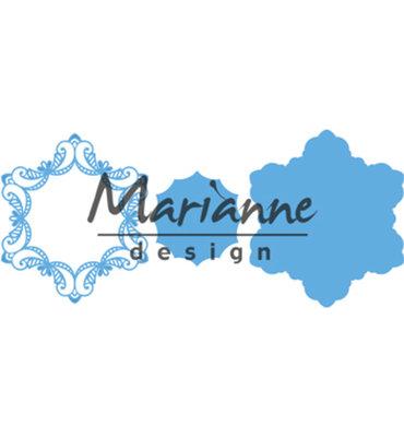 LR0530 - Marianne Design - Creatables - Royal Frame - 123x142mm