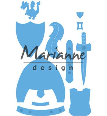 LR0528 - Marianne Design - Creatables - Kims Buddies Knight - 76x93mm