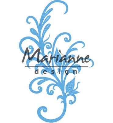 LR0526 - Marianne Design - Creatables - Anjas Floral Ornament - 65x105mm