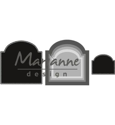 CR1439 - Marianne Design - Craftables - Basis Arch - 101x104mm