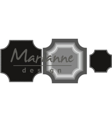 CR1438 - Marianne Design - Craftables - Basis Square - 110x110mm