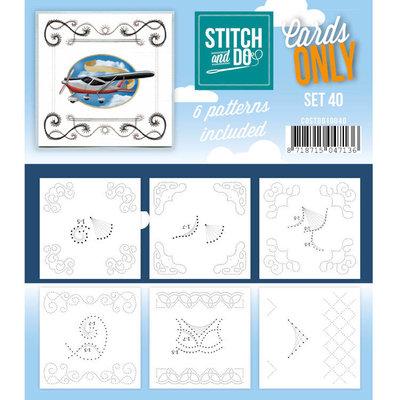Stitch & Do - Cards Only - Set 40