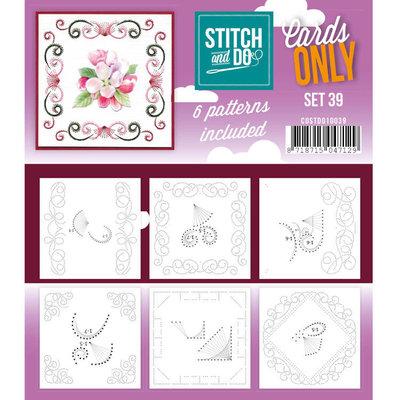 Stitch & Do - Cards Only - Set 39