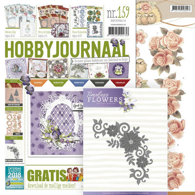 Hobbyjournaal 159 -SET- met gratis knipvel en mal PM10133