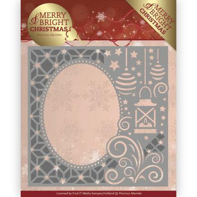 PM10125 - Dies - Precious Marieke - Merry and Bright Christmas - Lantern Frame