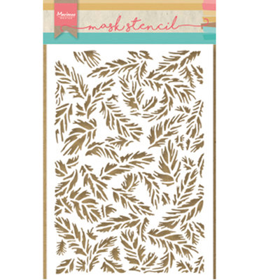 PS8004 - Marianne Design - Mask Stencil - Tiny's Feathers - 149x210mm