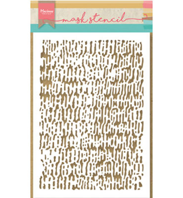 PS8002 - Marianne Design - Mask Stencil - Tiny's Faded Corduroy - 149x210mm